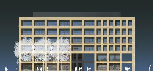 Postplatz dresden neubau wilsdruffer kubus anstelle des alten fre w rfels - Architektur kubus ...