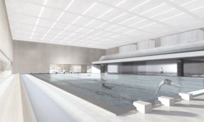 Architekten In Dresden architektur der 1960er in ostdeutschland schwimm und sprunghalle