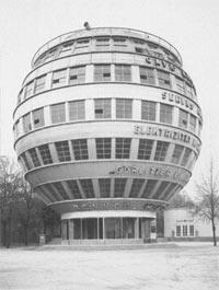 Kugelhaus Dresden 1928 Attraktion Zur Ausstellung Die Technische
